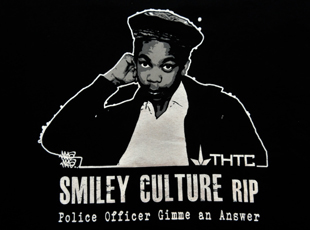 Justice 4 Smiley Culture t-shirt